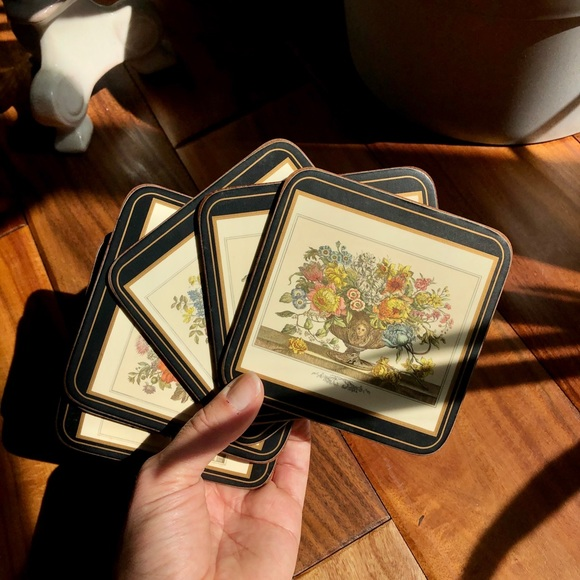 Other - Flower Coasters (6)